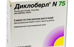 Уколы диклоберл: кому и когда назначается препарат, показания и противопоказания к применению, передозировка и аналоги лекарства
