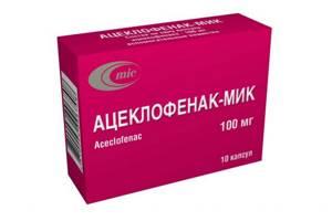Аналоги препарата Ацеклофенак: описание состава, форма выпуска, фармакодинамика и показания, правила приема возможные побочные эффекты, цены и отзывы