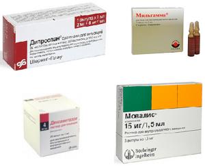 Уколы при защемлении нерва в пояснице: преимущества и недостатки инъекций при лечении заболевания, названия используемых препаратов и схемы их применения