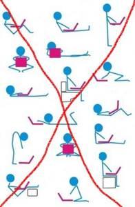 Правильная осанка за столом перед компьютером: признаки нарушения, советы по организации рабочего места, эффективные упражнения для прямой спины