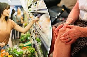 Питание при гонартрозе коленного сустава 2 степени: список запрещенных и разрешенных продуктов, основные правила диеты и таблица подробного меню на неделю
