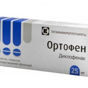 Ортофен таблетки: противопоказания и побочные эффекты, механизм действия, инструкция, побочные действия, состав и отзывы пациентов