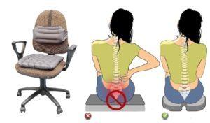 Ортопедическая подушка для копчика: классификация изделий по назначению, показания и противопоказания к применению, рекомендации по выбору и уходу