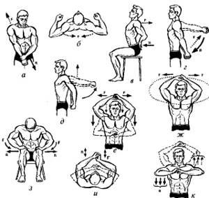 Упражнения при плечелопаточном периартрите: комплексы ЛФК и правила выполнения, примеры движений и йога, противопоказания и ограничения