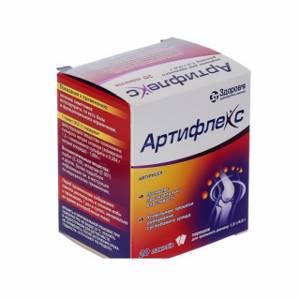 Артифлекс: лечебное действие, состав и побочные эффекты, описание лекарства и форма выпуска, показания и противопоказания к применению