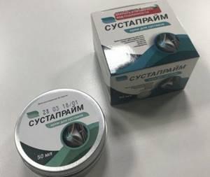 Крем Сустапрайм: принцип действия и состав, инструкция по применению и противопоказания, фармакологический эффект и аналоги