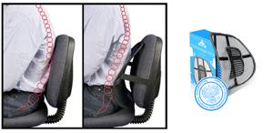 Упор поясничный seat back (Сит Бэк): описание и показания к применению, как применять и преимущества корректора осанки, отзывы покупателей и цена