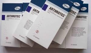 Артротек: сфера применения и противопоказания, побочные действия и описание препарата, случаи передозировки и отзывы покупателей