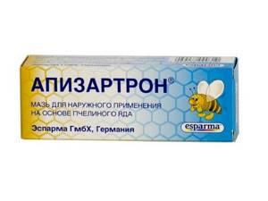 Апизартрон: форма выпуска и лечебное действие, действующее вещество и побочные эффекты, показания и противопоказания к применению, необходимые дозировки