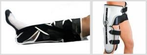 Деротационный сапожок при переломе шейки бедра: виды, материалы производства, польза, особенности использования, правила выбора фиксирующих приспособлений