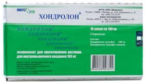 Хондролон в уколах: показания и противопоказания, механизм действия, инструкция, цена, состав и показания к применению