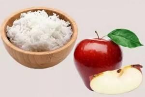 Рис И Яблоки Для Похудения.