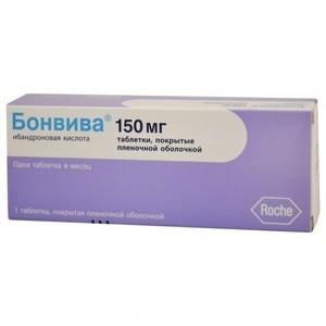 Бонвива таблетки и уколы: лечебные свойства и показания к применению, противопоказания и побочные эффекты, стоимость в аптеке и отзывы