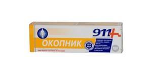 Бадяга 911: форма выпуска и состав препарата, механизм действия и показания к применению, способы использования и противопоказания, отзывы пациентов и цена