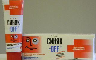 cиняк-Офф: инструкция по применению, показания и противопоказания, дозировка и длительность лечения, принцип действия препарата